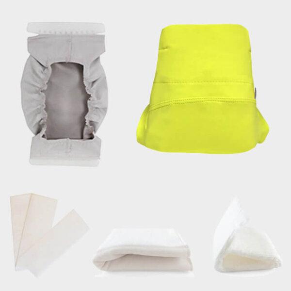 TMAC csónakos mosható pelenka próbacsomag kivehető csónakkal - Zöld banán
