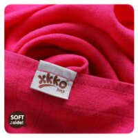 Xkko bambusz tetra pelenka - red sky mix 70*70 cm