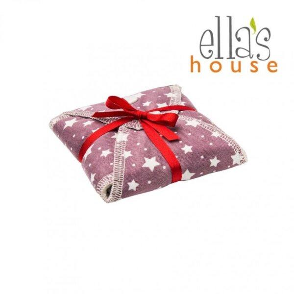 Ella's House mosható női betét maxi - lila csillagos