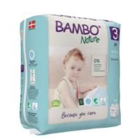 Bambo Nature Öko eldobható pelenka - 3 (4-8kg) 28 db