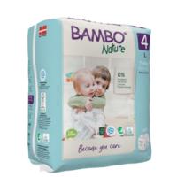 Bambo Nature Öko eldobható pelenka - 4 (7-14 kg) 24 db