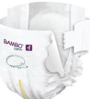 Bambo Nature Öko eldobható pelenka 48 db - 4 (7-14 kg)