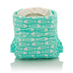 Culla di Teby csónakos mosható pelenka - Soft touch Halacskák
