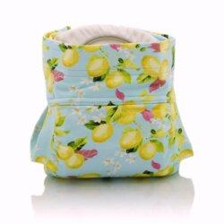 Culla di Teby csónakos mosható pelenka - Soft touch Citromok