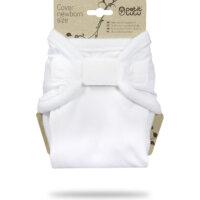 Petit Lulu PUL újszülött mosható pelenkakülső - Fehér