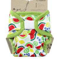 Petit Lulu PUL mosható pelenka külső - Dinnyék
