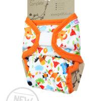 Petit Lulu SIO mosható pelenka - új verzió - Bolondos állatok