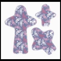 Ella's House Moon Pads - mosható női betét csomag - Paradise
