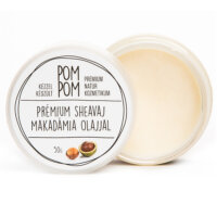 PomPom natúrkozmetikum - Prémium sheavaj makadámia olajjal