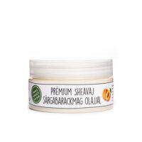 PomPom natúrkozmetikum - Prémium sheavaj sárgabarackmag olajjal
