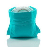 Culla di Teby csónakos mosható pelenka - Soft touch Égszínkék