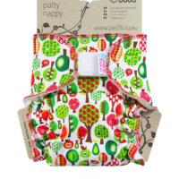 Petit Lulu Maxi Night éjszakai nadrágpelenka - Gyümölcsfák
