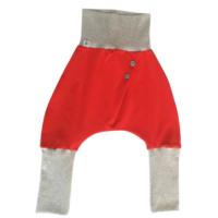 Temiti többméretes hordozós nadrág - Piros