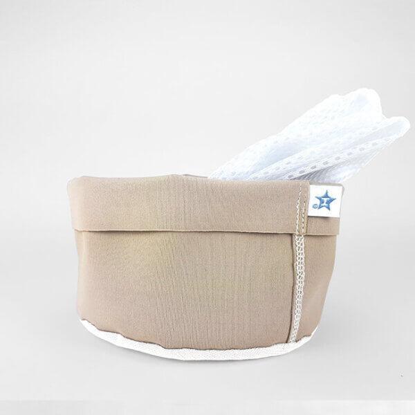 Hamac mosható tároló tasak - Homokszínű