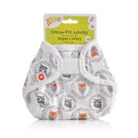 Xkko PUL újszülött mosható pelenkakülső - Rókák és mosómacik