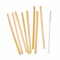 BAMBOO LOUNGE bambusz szívószál (8 db)