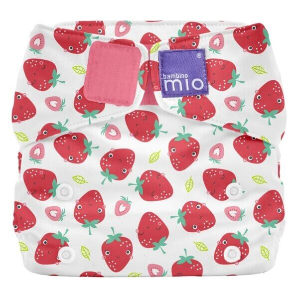 Bambino Mio MioSolo zsebes pelenka – Strawberry Cream