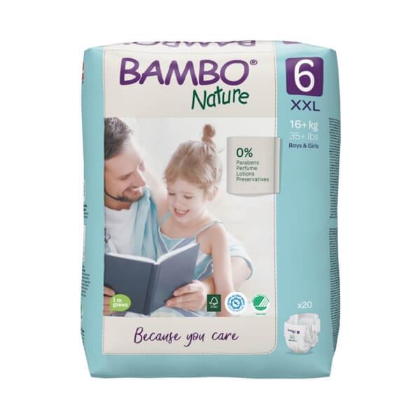 Bambo Nature öko pelenka 6 - 16 kg+ (20 db)