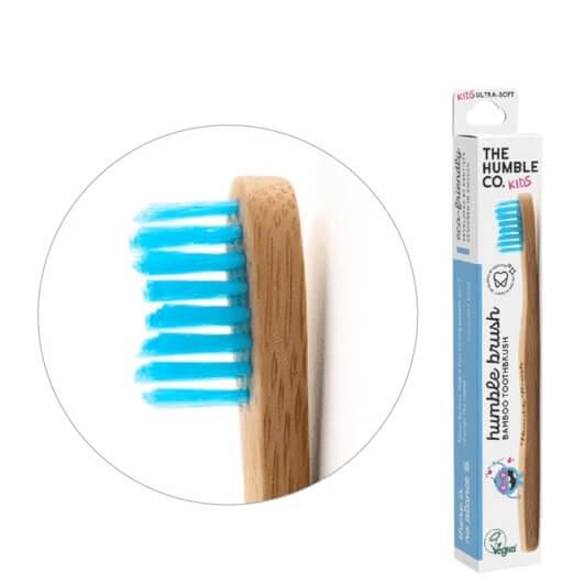 Humble Brush bambusz gyermek fogkefe ultra soft - több színben