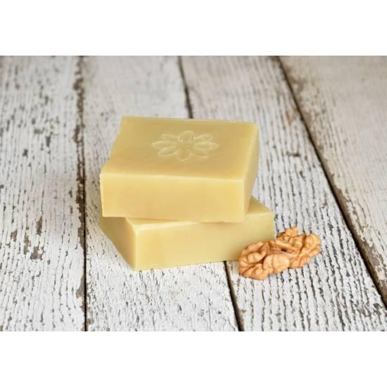Napvirág Hajmosó szappan - ricinus- és dió olajjal és citrom illattal (120 g)
