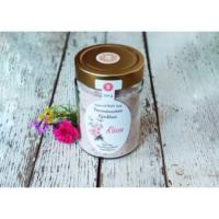 Napvirág Parajdi Fürdősó organikus geránium illóolajjal és rózsaszirmokkal (350g)