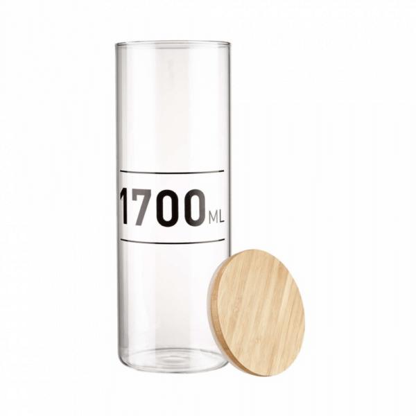 WOODLOCK üveg tároló - 1700 ml