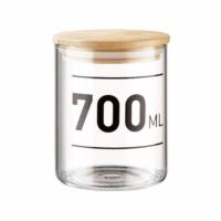 WOODLOCK üveg tároló - 700 ml
