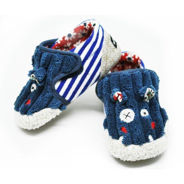 Bébi cipőcske - HIPPIPOS, a víziló (6-12 hónapos korig)