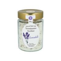 Napvirág Fürdősó - Holt-tengeri Bio levendula illóolajjal és szárított levendulavirággal ( 280 g)