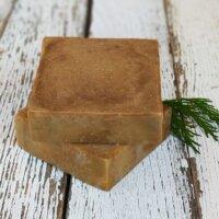 Napvirág Natúr szappan - Kávé kókusz olajjal és vanília kivonattal (120 g)
