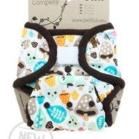 Petit Lulu SIO mosható pelenka - új verzió - Erdei gomba