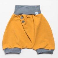 Temiti többméretes hordozós rövidnadrág - Sárga