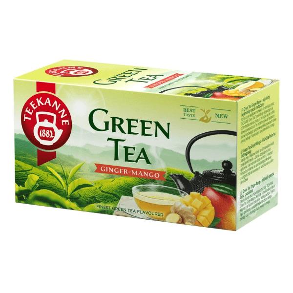 Teekanne gyömbéres mangós zöld tea - filteres (20 db)