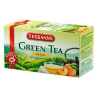 Teekanne őszibarackos zöld tea - filteres (20 db)