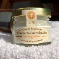 Napvirág dezodor Frissítő extra szűz kókuszolajjal, citromfű, teafa illattal 30g