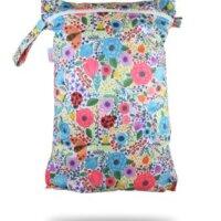 Petit Lulu pelenkatároló zsák - Virágzó kert