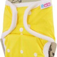 Petit Lulu SIO mosható pelenka - Sárga - Patentos