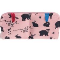 Ella's House betéttartó táska - LIMITÁLT Wildlife Pink