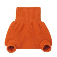 Disana nadrág fazonú biogyapjú pelenkakülső - Narancs