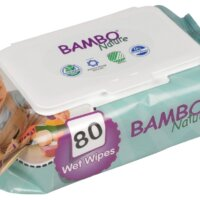 Bambo Nature nedves törlőkendő (80 db)