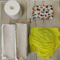 Hamac mosható pelenka csomag bérlés - S méret