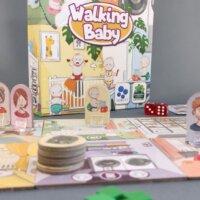 Walking Baby társasjáték - hétvégi babakaland